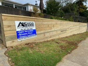 earth anchoring and retainer wall specialist